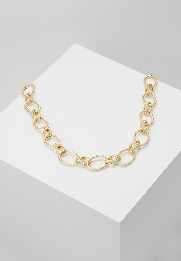 Topshop - CHUNKY VINTAGE CHAIN - Collar - gold-coloured