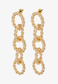 Topshop - ROPE LINK DROP - Boucles d'oreilles - gold-coloured - 3