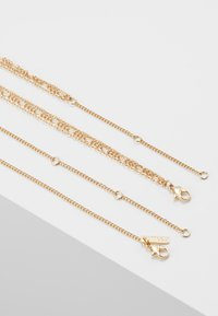 Topshop - ROSARY MULTIROW 2 PACK - Collier - gold-coloured - 2