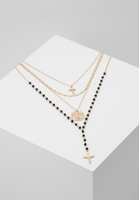 Topshop - ROSARY MULTIROW 2 PACK - Collier - gold-coloured - 0