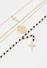 Topshop - ROSARY MULTIROW 2 PACK - Collier - gold-coloured - 4