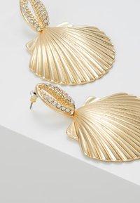 Topshop - PAVE DROP - Boucles d'oreilles - gold-coloured - 4