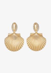 Topshop - PAVE DROP - Boucles d'oreilles - gold-coloured - 3