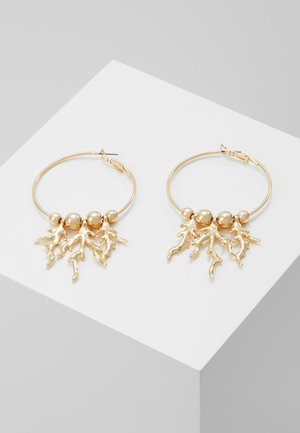CAST CORAL HOOP - Boucles d'oreilles - gold-coloured