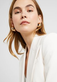 Topshop - CHUNK LAYER HOOP - Pendientes - gold-coloured - 1