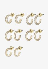 Topshop - MINI HOOP 5 PACK - Earrings - gold-coloured - 2