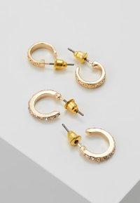 Topshop - MINI HOOP 5 PACK - Earrings - gold-coloured - 3
