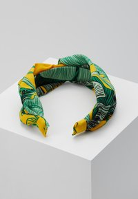 Topshop - MUST LEAF PRINT - Hair Styling Accessory - yellow - 2