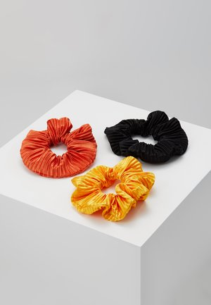 CRINK SCRUNCHIE 3 PACK - Hair Styling Accessory - yellow