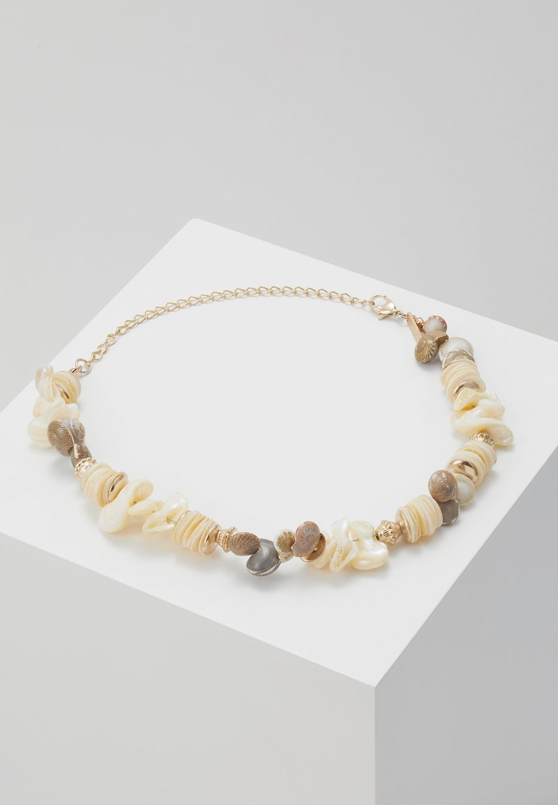 Topshop - CLUSTER CHOKER - Necklace - cream