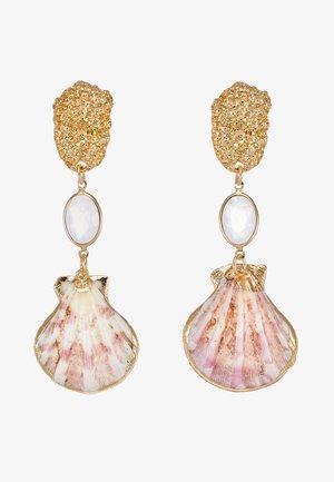 DROP - Earrings - pink