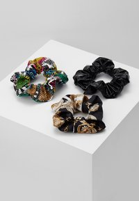 Topshop - SNAKE SCRUNCHIE 3 PACK - Hair styling accessory - multicolor - 2