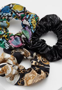 Topshop - SNAKE SCRUNCHIE 3 PACK - Hair styling accessory - multicolor - 4