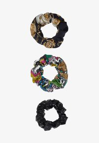 Topshop - SNAKE SCRUNCHIE 3 PACK - Hair styling accessory - multicolor - 3