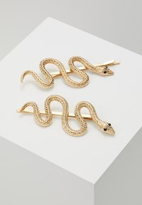Topshop - SNAKE SLIDE 2 PACK - Hair styling accessory - gold-coloured - 1
