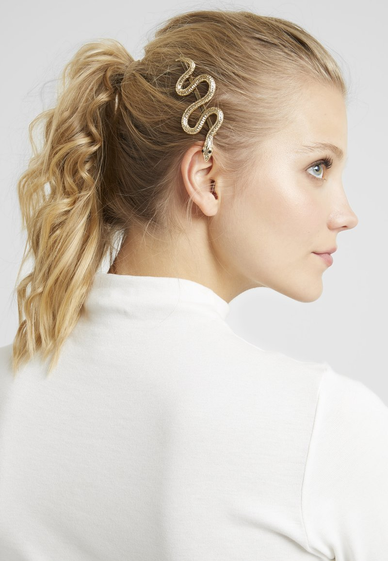 Topshop - SNAKE SLIDE 2 PACK - Hair styling accessory - gold-coloured