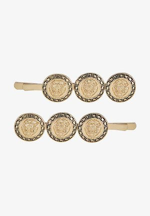 COIN HAIR SLIDE 2 PACK - Hair styling accessory - gold-coloured
