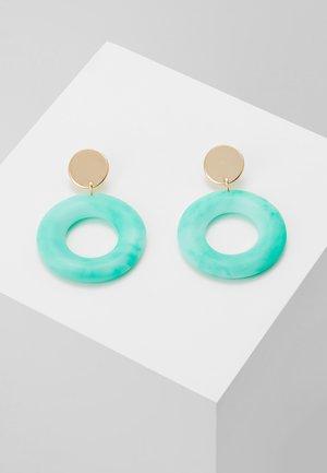 PASTEL DROP - Oorbellen - turquoise