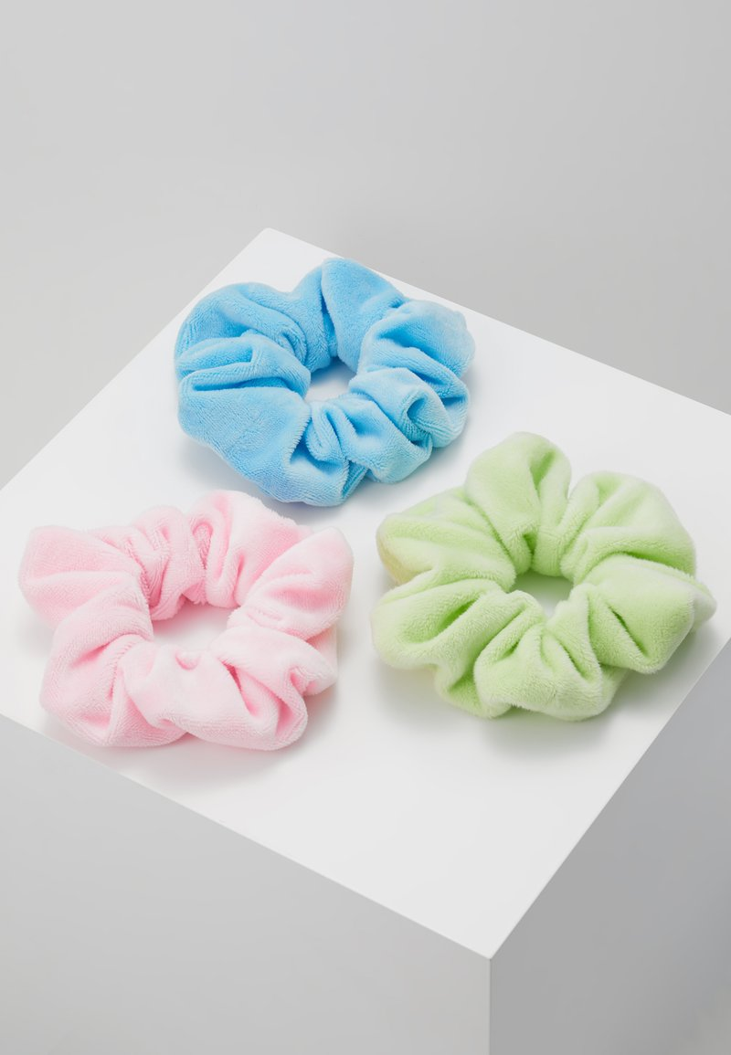 Topshop - MINI SCRUNCHIE 3 PACK - Håraccessoar - bright multi