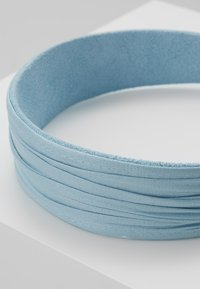 Topshop - PLEATED ALICE BAND - Haaraccessoire - blue - 4