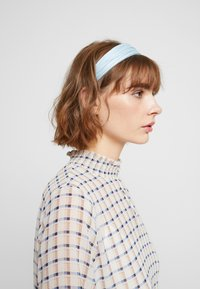 Topshop - PLEATED ALICE BAND - Haaraccessoire - blue - 1