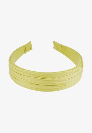 PLEATED ALICE BAND - Hårstyling-accessories - yellow