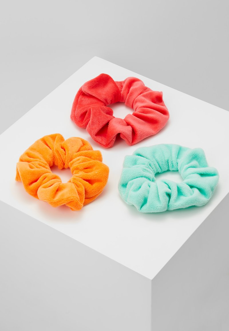 Topshop - SOFT SCRUNCHIE 3 PACK - Hair Styling Accessory - bright multi
