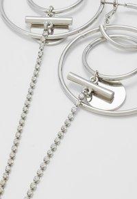 Topshop - HOOP DROP - Orecchini - silver-coloured - 4