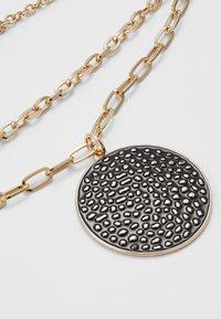 Topshop - DISC MULTI LAYER - Necklace - black - 4