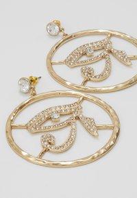Topshop - EYE DROP HOOP - Boucles d'oreilles - gold-coloured - 4