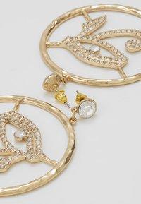 Topshop - EYE DROP HOOP - Boucles d'oreilles - gold-coloured - 2