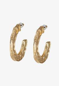 Topshop - CHUNKY ENGRAVED HOOPS - Oorbellen - gold-coloured - 3