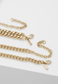 Topshop - SHELL INLY DISC 2 PACK - Halsband - gold-coloured - 2