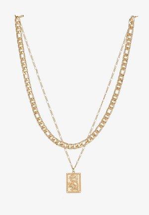 FINE TAG MULTIROW - Collana - gold-coloured