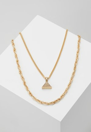 PYRAMID MULTIROW - Necklace - gold-coloured