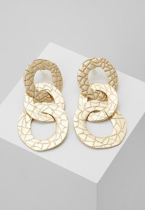 CIRC DROPS - Boucles d'oreilles - gold-coloured