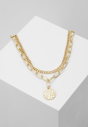 CROC DISC - Collana - gold-coloured