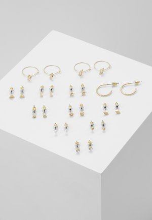 INTER 12 PACK - Pendientes - gold-coloured