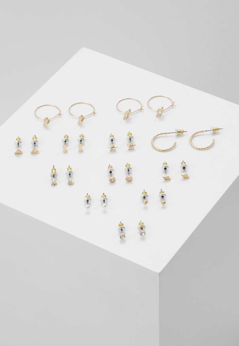 Topshop - INTER 12 PACK - Earrings - gold-coloured