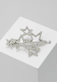 Topshop - STAR CLUSTER SLID - Hair Styling Accessory - crystal - 0