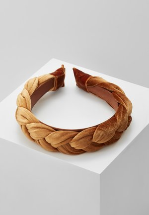 HEADBAND - Hair styling accessory - rust