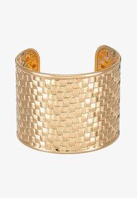Topshop - WIN WIDE WOVEN  - Bracelet - gold-coloured - 3