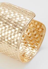 Topshop - WIN WIDE WOVEN  - Bracelet - gold-coloured - 4