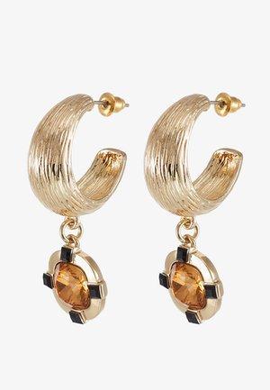 WIN DROP HOOP - Boucles d'oreilles - gold-coloured