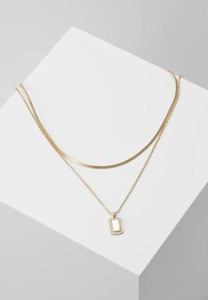 FINE PAVE 2 PACK - Necklace - light blue