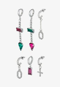 Topshop - WIN DROP MULTI 3 PACK - Earrings - bright multi - 3