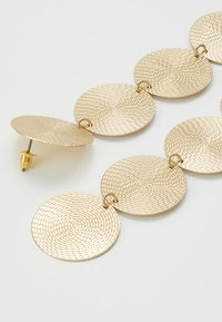 Topshop - WIN LONG DISC DROP - Oorbellen - gold-coloured - 2