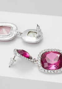 Topshop - PAVE EDGE - Orecchini - pink - 2