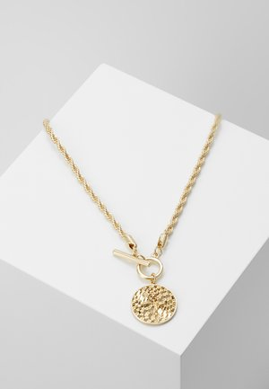 WIN WOVEN DISC  - Collier - gold-coloured