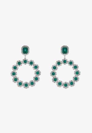 WIN CIRCLE - Boucles d'oreilles - silver-coloured